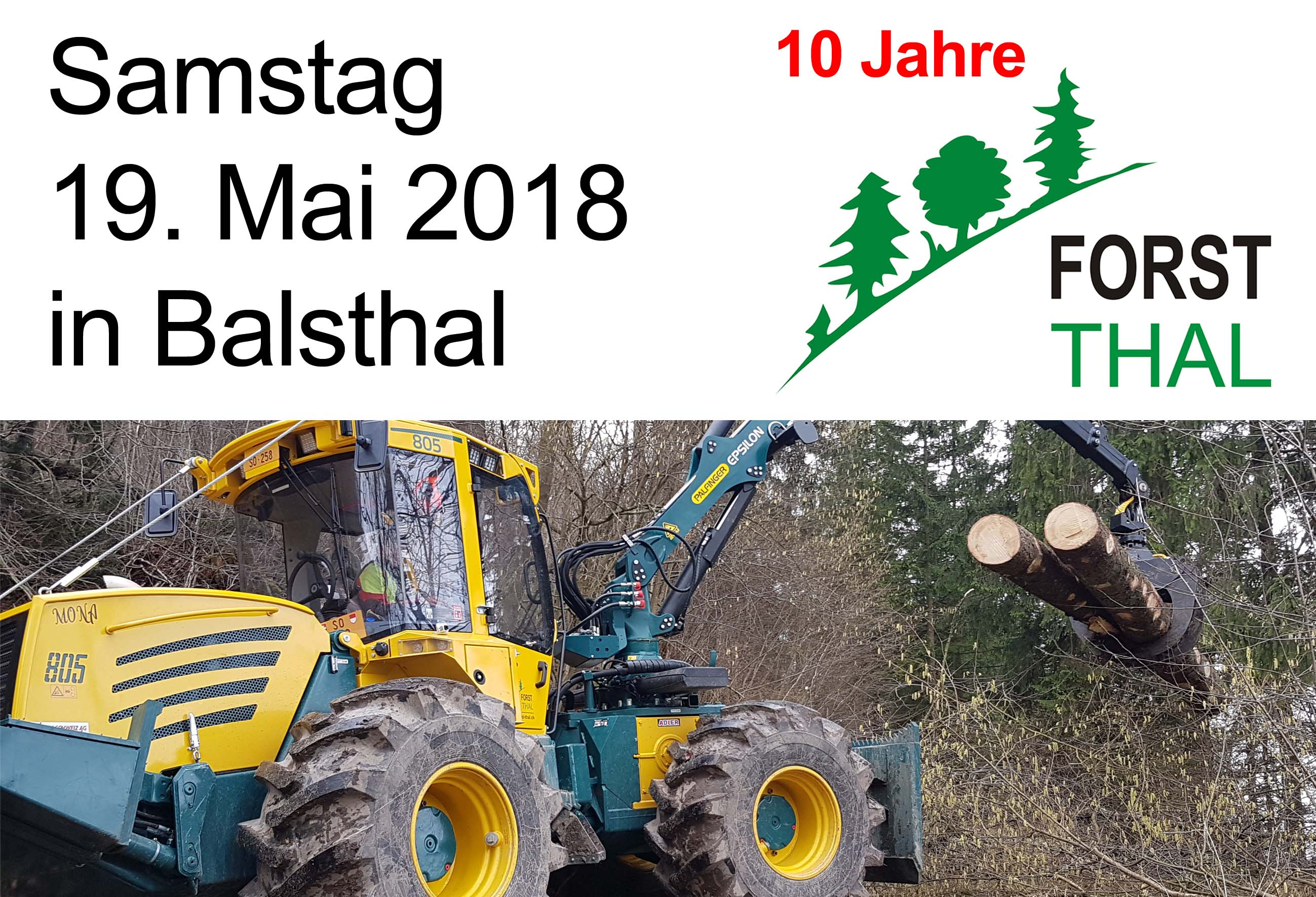 Forst Thal 10 Jahre